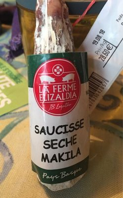 Saucisse seche makila