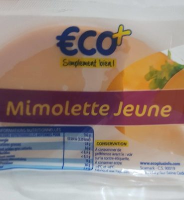 Mimolette jeune
