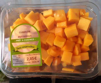 Cubes de butternut