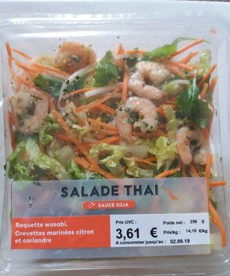 Salade Thaï - Roquette / Crevettes  au citron & coriandre