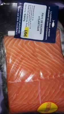 Pave de saumon atlantique