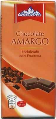 Tableta de chocolate negro con fructosa 55% cacao