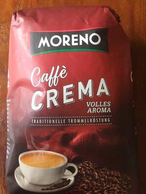Kaffee Crema Moreno