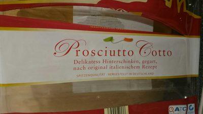 Prosciutto Cotto, Delikatess Hinterschinken