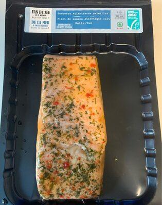 Filet de saumon atlantique cuit belle-vue