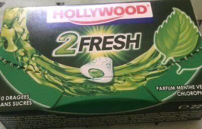 2 Fresh parfum menthe verte / chlorophylle