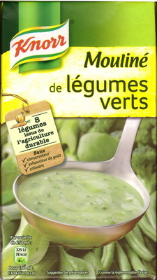 Mouliné de légumes verts Knorr