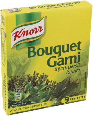 Knorr Bouillon Cubes Bouquet Garni Thym Persil Laurier 9 Cubes 99g