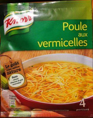 Knorr Soupe Poule Vermicelles 63g 4 Portions