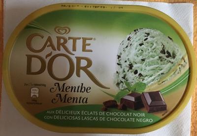 Menthe aux éclats de chocolat noir