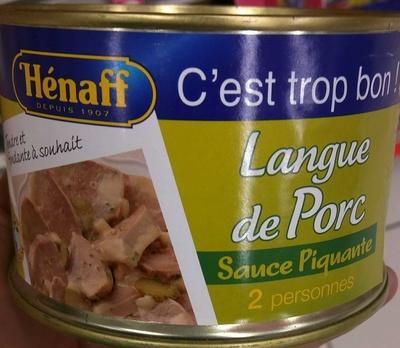 Langue de Porc Sauce Piquante
