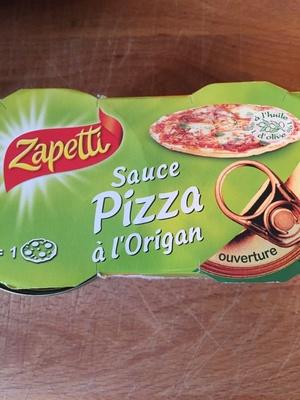 L.2X1 / 4 Sauce Pour Pizza Origan 190G Zapetti