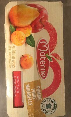 Compote Pomme Poire Mirabelle