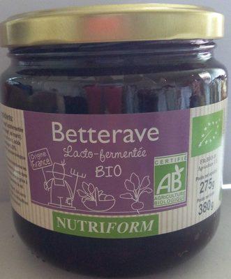 Betterave Lacto-fermentée BIO