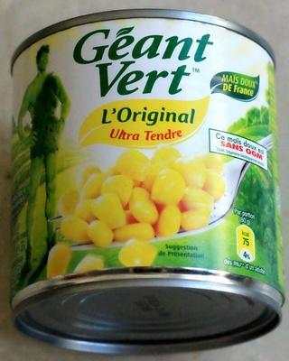 Maïs doux L'Original Ultra Tendre