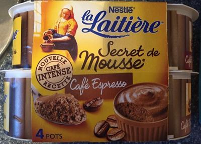 Secret de Mousse Café Espresso (4 Pots)