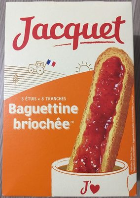 Baguettine Briochée