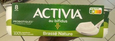 Activia (Brassé Nature) 8 Pots
