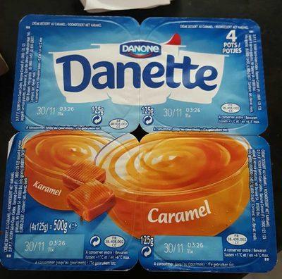 Danette Caramel