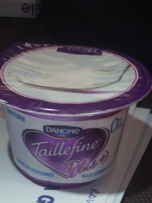 Taillefine Plus Nature (0 % MG)