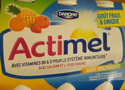 Actimel multifruits