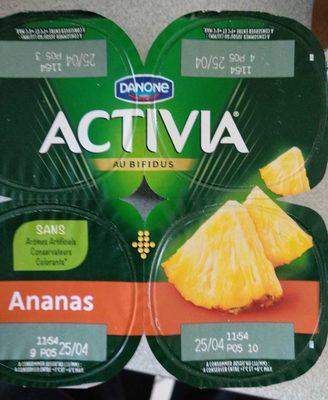 Activia à l'ananas
