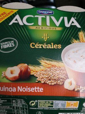 Activia cereales quinoa noisette