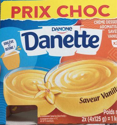 danette vanille