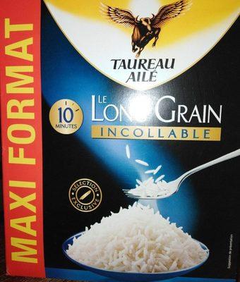 Le long grain incollable riz 10 min 2kg