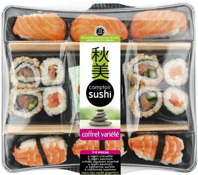 Sushi Coffret Variété - 14 Pièces