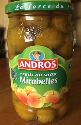 Fruit au Sirop Mirabelles