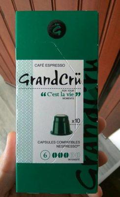 GrandCrü Cafe express c'est la vie