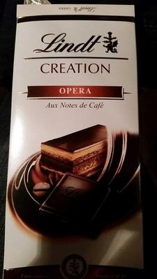 Lindt CREATION OPERA Aux Notes de Café