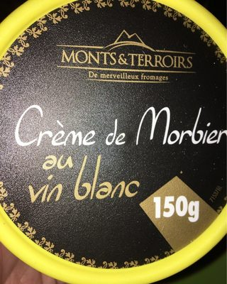 Creme de morbier au vin blanc
