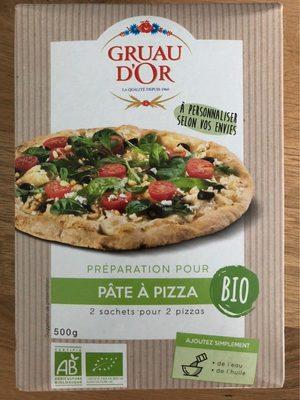 Préparation pour Pâte à pizza