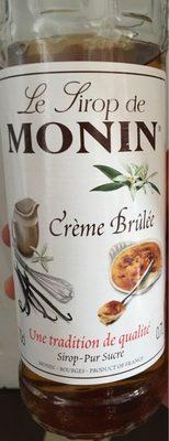 Monin Premium Creme Brulee Syrup 700 ML