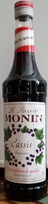 Sirop Cassis Monin 70 cl, 1 Bouteille