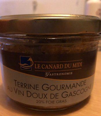 Terrine gourmande au vin doux de Gascogne