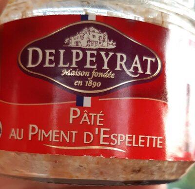 Delpeyrat pâté au Piment d'Espelette