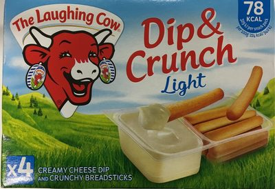 Laughing Cow Dip & Crunch Light