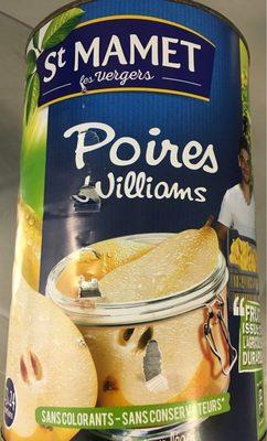 5 / 1 Poire Williams Sirop St Mamet