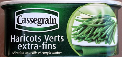 Haricots Verts extra-fins - 110 g - Cassegrain