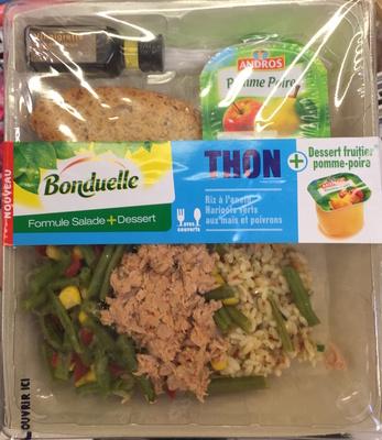 Formule Salade + Dessert Thon