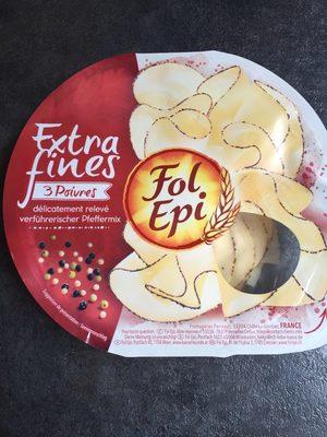 FOL EPI, tranches extra fines 3 poivres