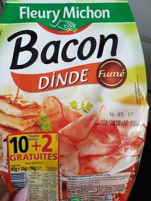 Bacon de Dinde Fumé