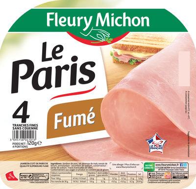 Le Paris fumé - 4 tr.