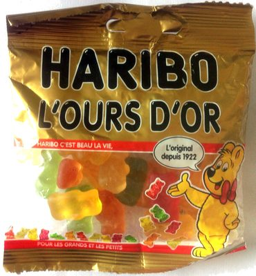 L'ours d'or