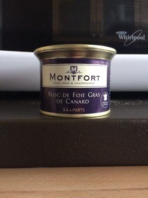 Montfort bloc foie gras