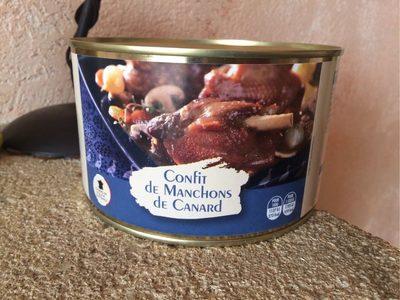 Confit De Manchons De Canard