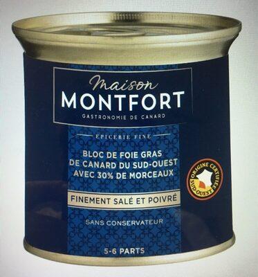 Bloc de foie gras 30% morceaux Excellence